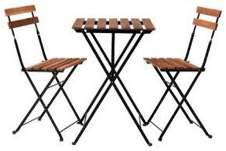 table de jardin avant relooking